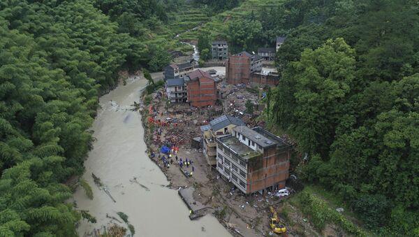 Posledice tajfuna Lekima u Kini - Sputnik Srbija