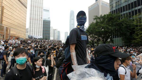 Demonstracije u Hongkongu - Sputnik Srbija