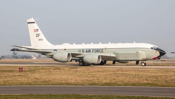 Američki izviđački avion Boing RC-135U - Sputnik Srbija
