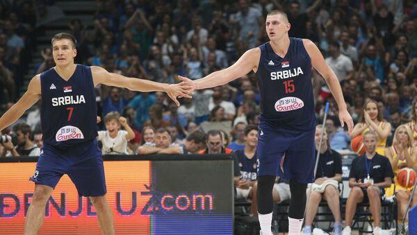 Богдан Богдановић и Никола Јокић - Sputnik Србија