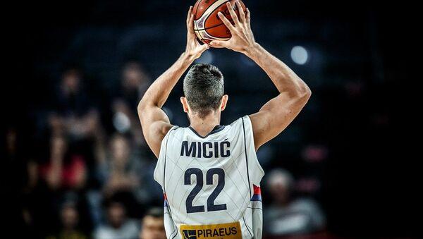 Reprezentativac Srbije Vasilije Micić - Sputnik Srbija