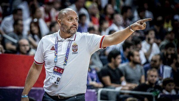 Selektor košarkaške reprezentacije Srbije Aleksandar Saša Đorđević - Sputnik Srbija