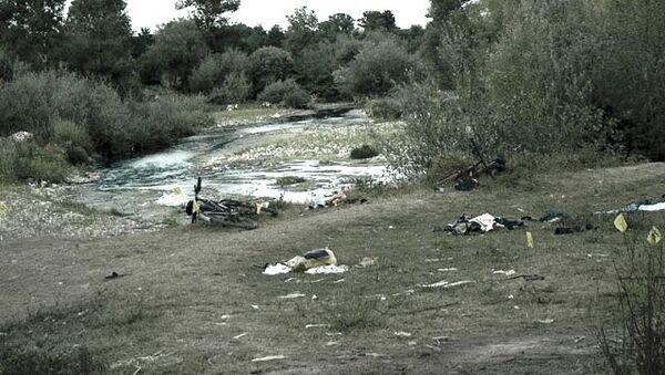 Гораждевац: Место на коме су убијена српска деца 13.августа 2003. на Косову И Метохији - Sputnik Србија