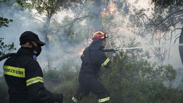 Požar u Grčkoj - Sputnik Srbija