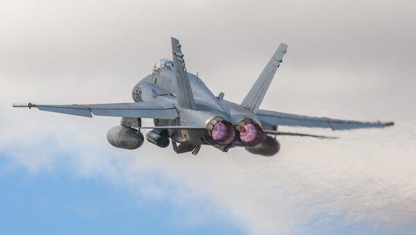 Авион Ф-18 Хорнет шпанског ратног ваздухопловства - Sputnik Србија