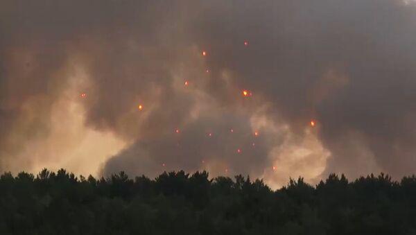Пожар у складишту муниције - Sputnik Србија