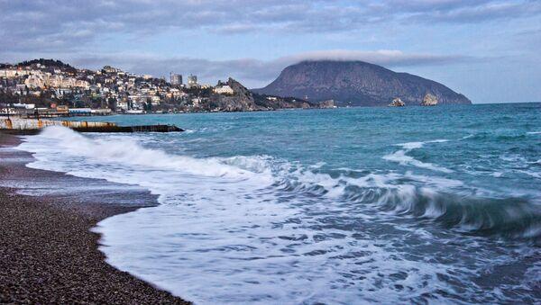 Obala Crnog mora na Krimu - Sputnik Srbija