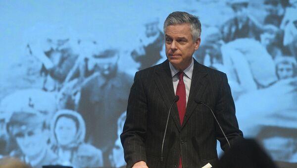 Ambasador Sjedinjenih Američkih Država u Rusiji Džon Hantsman - Sputnik Srbija