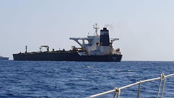 Супертанкер Грејс 1 у Гибралтару - Sputnik Србија