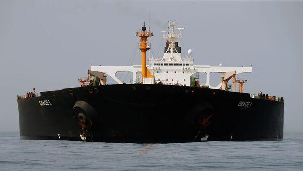 """Ирански танкер """"Грејс 1"""" заплењен у Гибралтару - Sputnik Србија"""