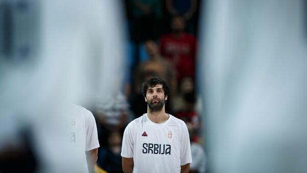 Репрезентативац Србије Милош Теодосић - Sputnik Србија