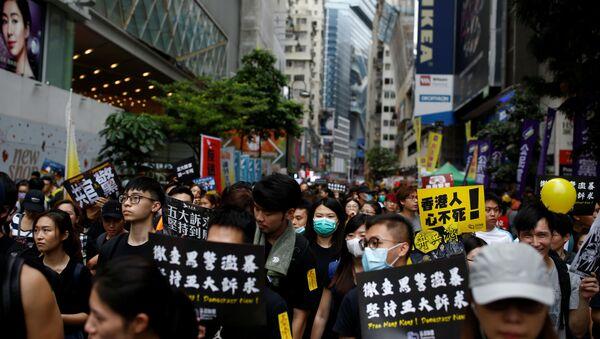 Protesti u Hongkongu - Sputnik Srbija