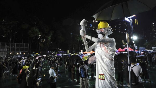 Протест у Хонгконгу - Sputnik Србија