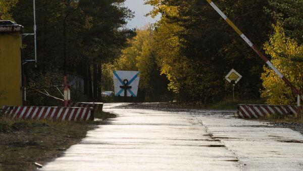 Улаз у војни гарнизон у Архангелској области Русије - Sputnik Србија