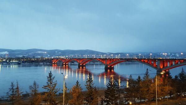 Метропола која дели Сибир на два дела – Краснојарск - Sputnik Србија