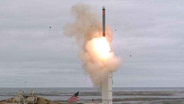 Тестирање крстареће ракете у САД  - Sputnik Србија