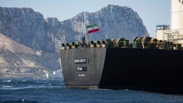 Ирански танкер у водама Гибралтара - Sputnik Србија