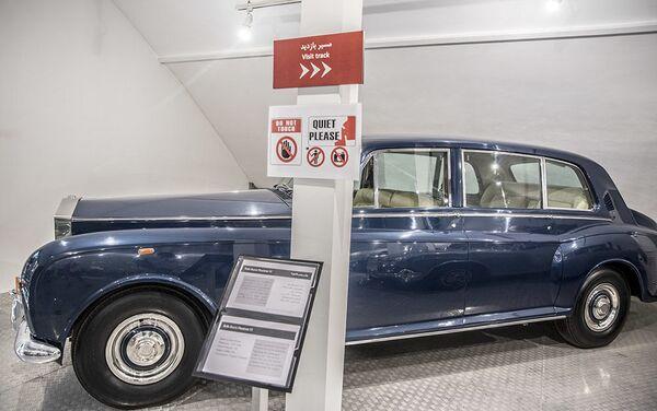 Аутомобил Rolls Royce Phantom VI у Музеју краљевских аутомобила у бившој резиденцији иранског шаха Мухамеда Резе Пахлавија - Sputnik Србија