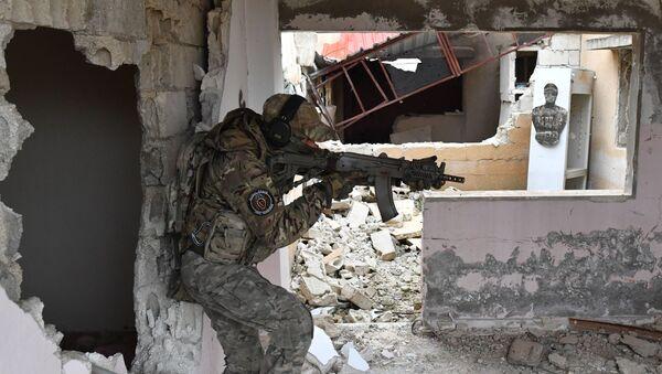 Obuka sirijskih vojnika u provinciji Hama - Sputnik Srbija