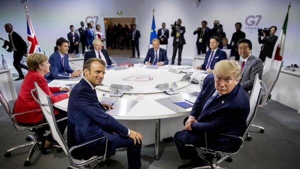 Lideri G7 na sastanku u francuskom Bijaricu - Sputnik Srbija