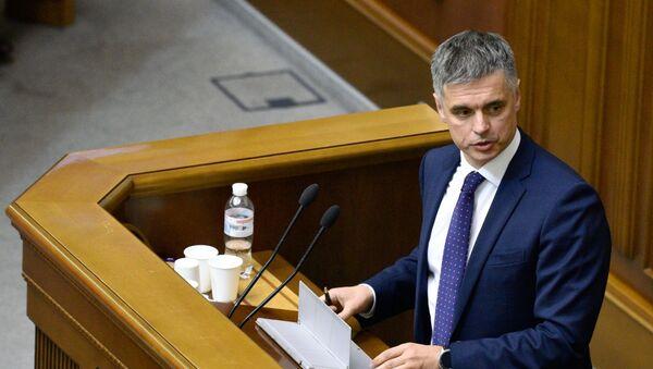 Ministar inostranih poslova Ukrajine Vadim Pristajko - Sputnik Srbija