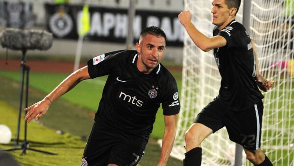 Фудбалери Партизана - Sputnik Србија