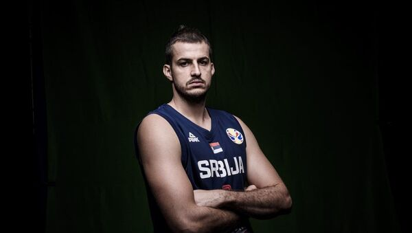 Reprezentativac Srbije Nemanja Bjelica - Sputnik Srbija