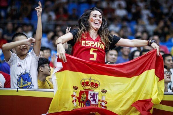 Навијачи на утакмици између Шпаније и Туниса - Sputnik Србија