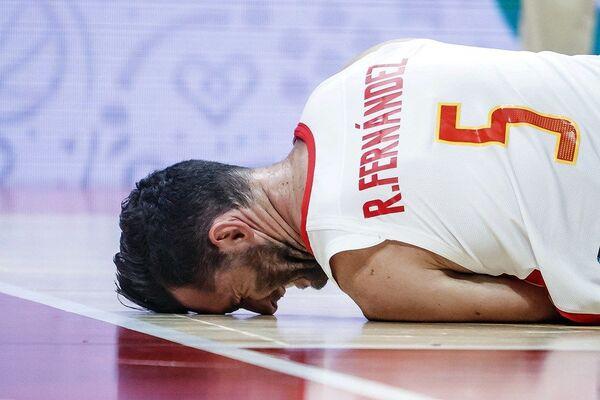 Руди Фернандез на мечу између Шпаније и Туниса - Sputnik Србија