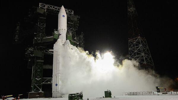 Lansiranje rakete teške klase Angara-A5 - Sputnik Srbija