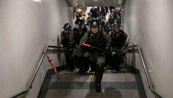 Хонгконшка полиција - Sputnik Србија