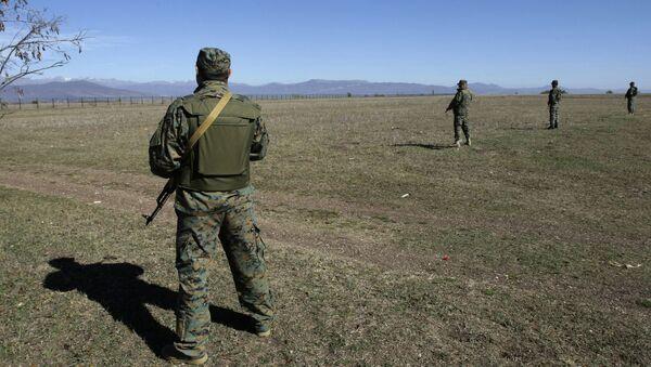 Гранична полиција Грузије на граници са Јужном Осетијом - Sputnik Србија