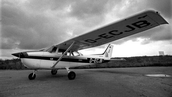 Avion Cesna na kome je nemački pilot Matijas Rust doleteo u Sovjetski Savez 1987. godine - Sputnik Srbija