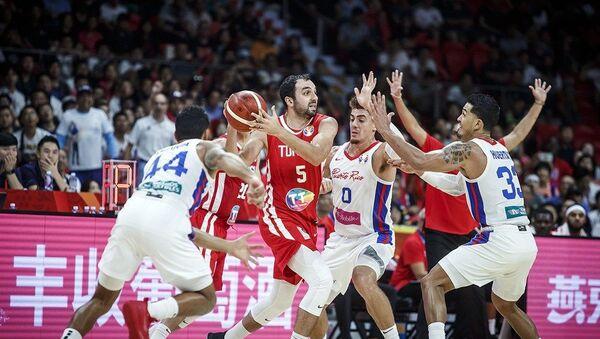 Детаљ са утакмице Порторико - Тунис - Sputnik Србија