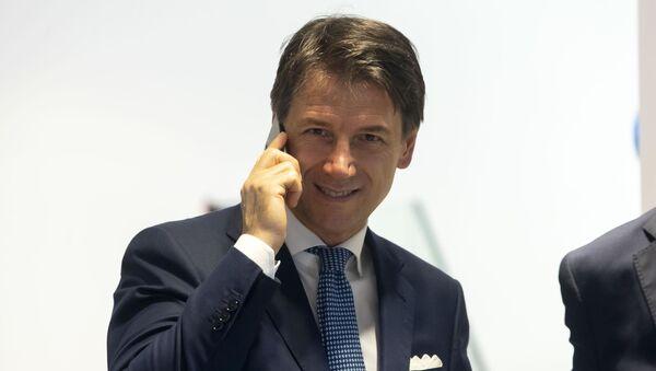 Italijanski premijer Đuzepe Konte - Sputnik Srbija