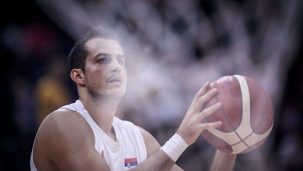 Српски кошаркаш Немања Бјелица - Sputnik Србија