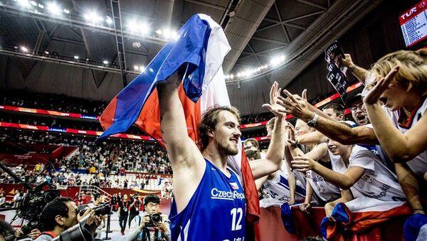 Česi proslavljaju plasman u drugu rundu SP u Kini - Sputnik Srbija