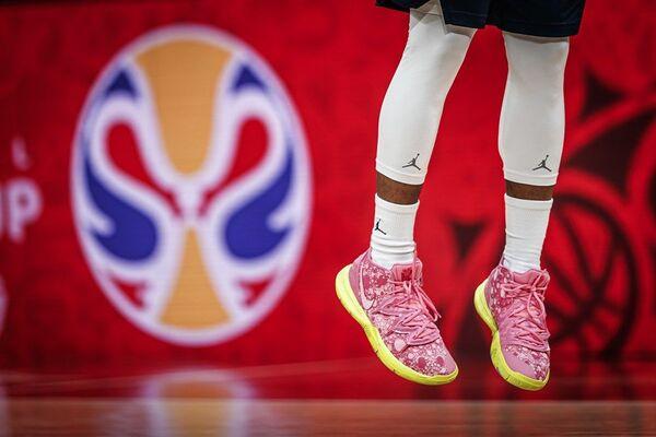 Детаљ са тренига француске репрезентације на Светском првенству у кошарци 2019. - Sputnik Србија