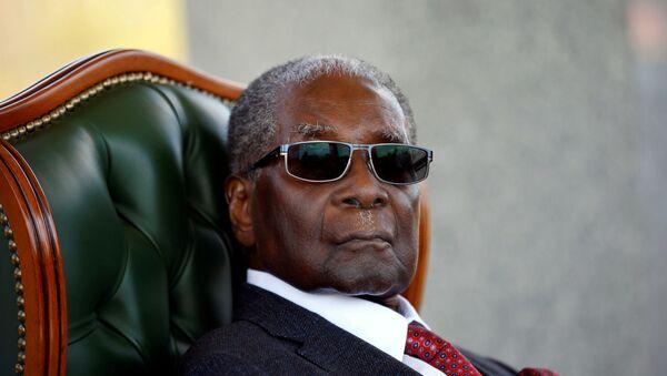 Бивши председник Зимбабвеа Роберт Мугабе - Sputnik Србија