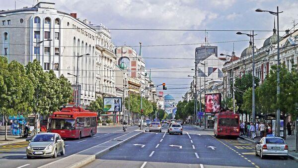 Београд, поглед на Храм Светог Саве - Sputnik Србија