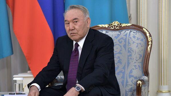 Бивши председник Казахстана Нурсултан Назарбајев - Sputnik Србија