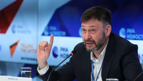 Главни уредник портала РИА Новости Украјина Кирил Вишински  - Sputnik Србија