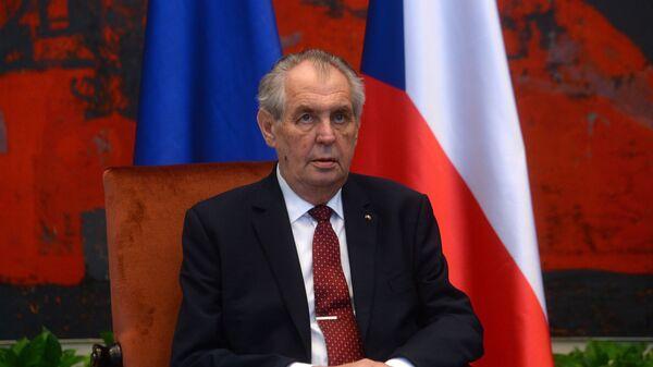 Miloš Zeman - Sputnik Srbija