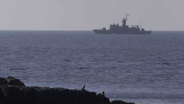 Brod grčke ratne mornarice - Sputnik Srbija
