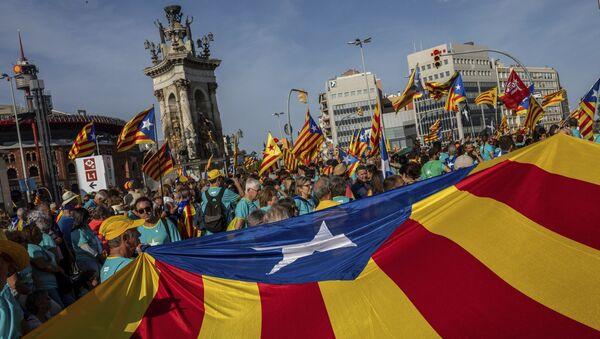 Veliki skup separatista u Barseloni - Sputnik Srbija