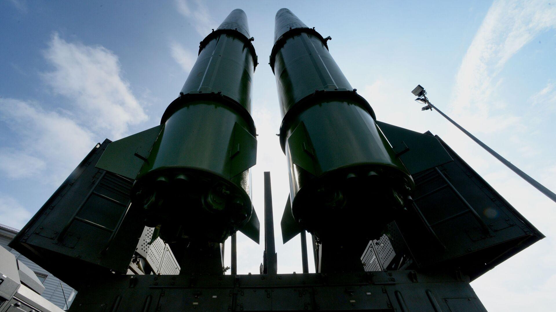"Руски ракетни систем ""Искандер М"" - Sputnik Србија, 1920, 05.09.2021"