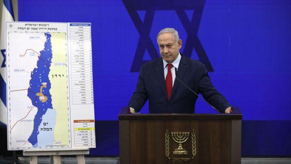 Izraelski premijer Benjamin Netanjahu  - Sputnik Srbija