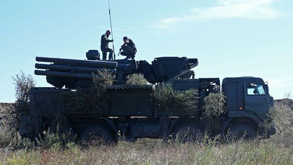 Protivvazdušni raketni sistem Pancir S - Sputnik Srbija