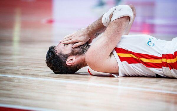 Шпански репрезентативац Руди Фернандез на мечу против Аустралије - Sputnik Србија