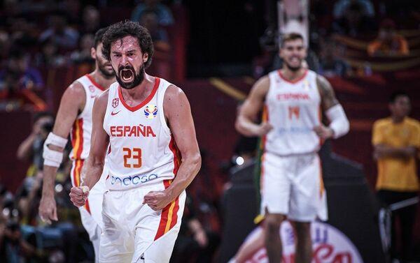 Шпански репрезентативац Серхио Љуљ на мечу против Аустралије - Sputnik Србија